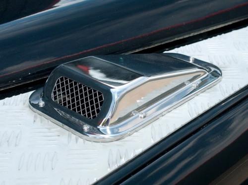Britpart Stainless Steel RH Bonnet Vent - DA4001SS