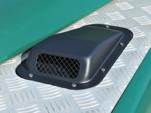 Britpart Steel Black Bonnet Vent - DA4000