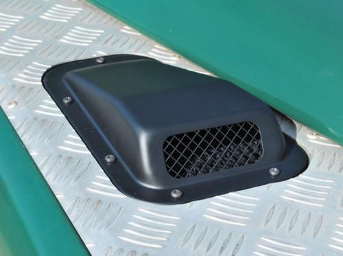 Britpart Steel Black Bonnet Vent - DA4001