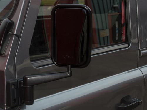 XS Enhancement Gloss Black Wing Mirror Set - DA6892