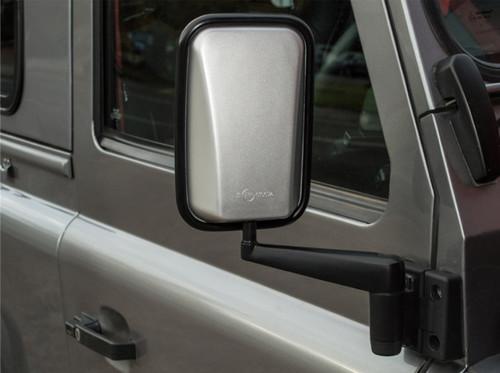 XS Enhancement Silver Wing Mirror Set - DA6893