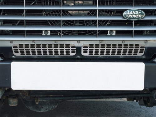 Britpart Lower Stainless Steel Grille For Models With Air Con - DA6551
