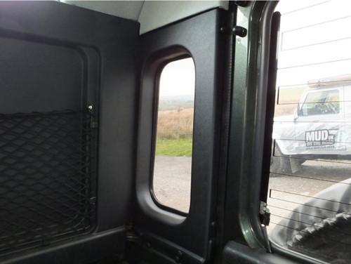 MUD Defender 90 Van Rear Quarter Trim Panels With Cut Outs - DA2767