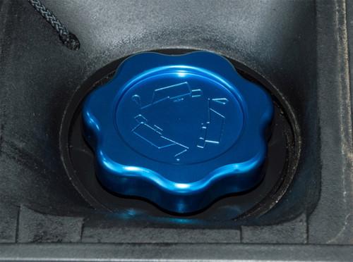 XS Enhancement Blue Td5 Oil Filler Cap - DA8890