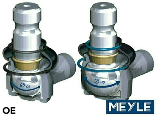 Meyle Range Rover Sport LH Heavy Duty Front Lower Arm With Air Suspension - LR029302HD