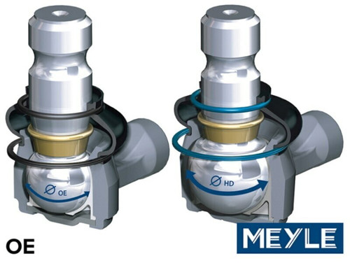 Meyle Adjustable Upper Front Control Arm Set - DA1709 - DA1710