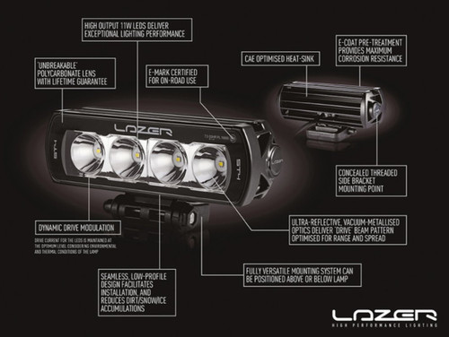 Lazer ST4 Evolution Single Light - DA2841