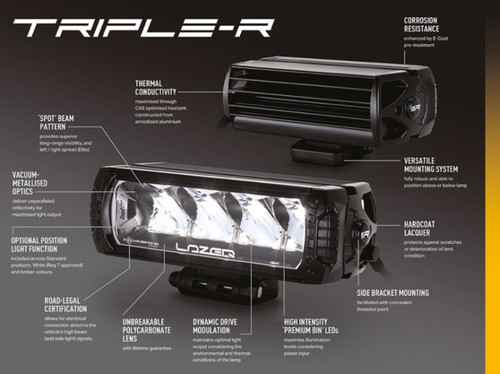 Lazer Triple R-4 Single Light Gen 2 - DA2842