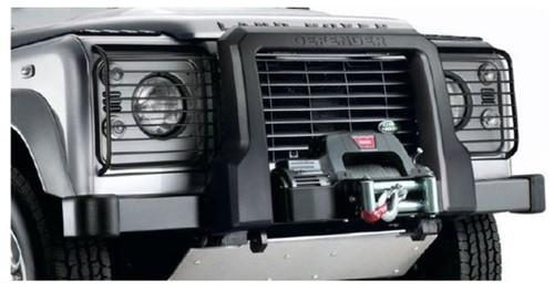 Genuine Defender Black Foam A Bar With A Winch  - VPLPP0061LR