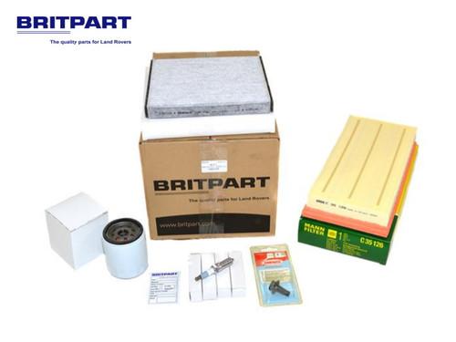 Britpart OEM Range Rover L405 And L494 2.0 Petrol Turbo Service Kit - DA6122P