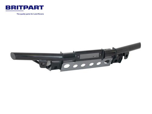 Britpart Black Tubular Winch Bumper With Air Con - DA5609