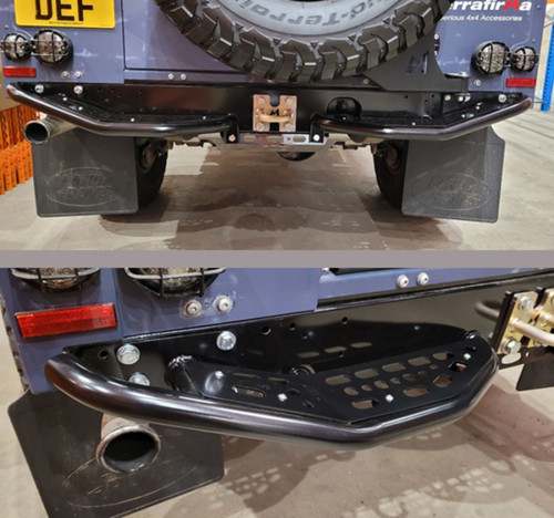 Terrafirma Defender Skeleton Rear Bumper Kit - TF0018