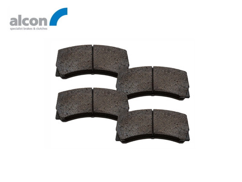 Alcon Defender 16 Inch 4 Pot Replacement Front Brake Pads - DA2708