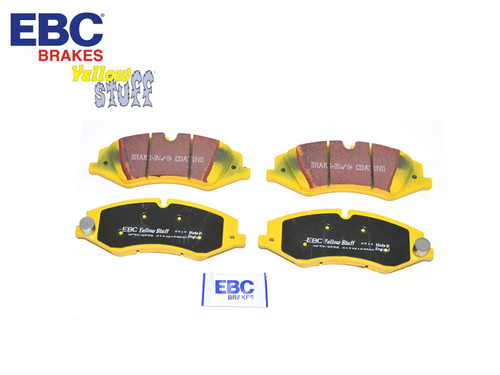 EBC Yellowstuff Discovery And Range Rover Front Pads (LR051626) - DA4844