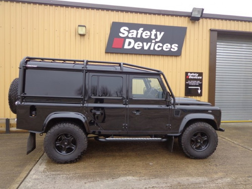 Safety Devices Defender 110 External And Internal 6 Point Bolt In Full Roll Cage - RBL2427SSS