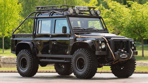 """Safety Devices Defender 110 """"Spectre Big Foot""""External 6 Point Bolt In Full Roll Cage - RBL2437SSS"""