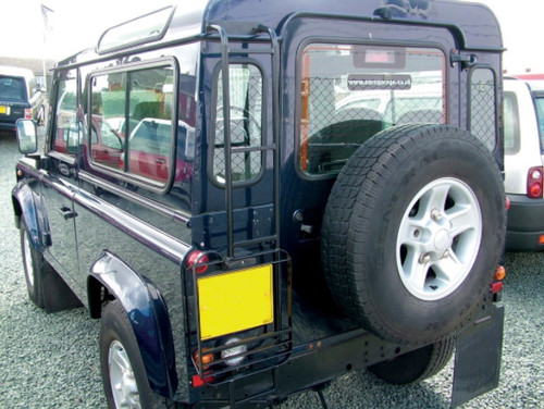 Allmakes 4x4 Defender Black Roof Access Ladder - STC50417