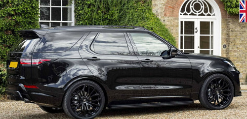Discovery 5 OE Spec Fixed Gloss Black Stealth Side Steps - VPLRP0347B