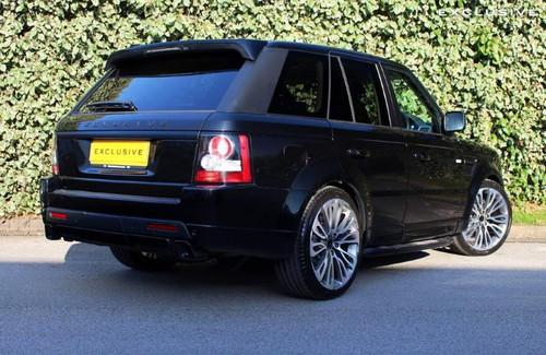 Range Rover Sport L320 OE Spec Fixed Gloss Black Stealth Side Steps - VPLSP0040B
