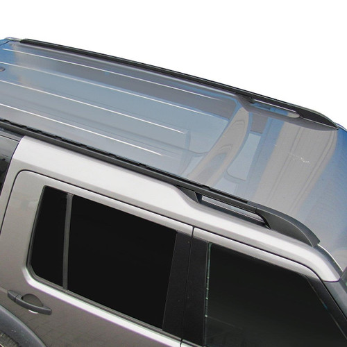 Discovery 3 and Discovery 4 OE Spec Gloss Black Roof Rail Set - LR055254 - LR055253