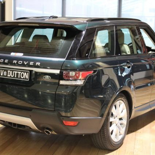 Range Rover Sport L494 OE Spec Gloss Black Roof Rail Set