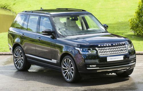 Range Rover L405 OE Spec Gloss Black Roof Rail Set
