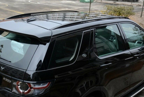 Gloss Black OE Roof Rails For Discovery Sport With Panoramic Roof - VPLCR0136B