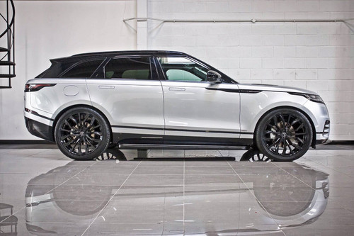 Range Rover Velar OE Spec Fixed Gloss Black Stealth Side Steps