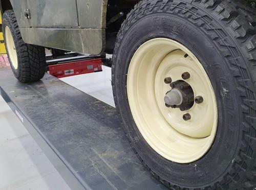 Britpart Steel Road Wheel in Black Primer 16 x 8 - DA2694