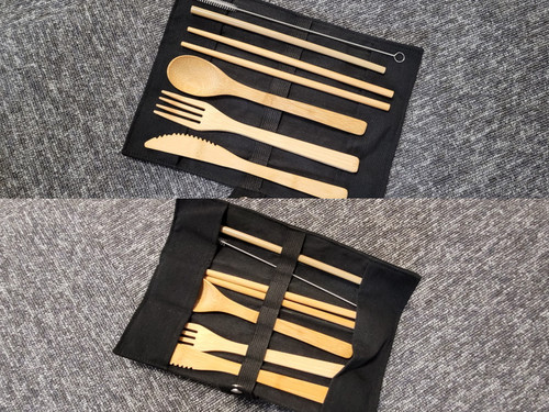 Terrafirma Bamboo Cutlery Set - TF1725