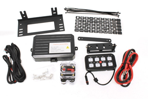 Terrafirma Multi Function 8 Way Switch Panel System - TF7010