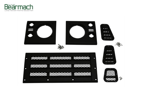 Bearmach Face Lift Grill And Headlight Surround Kit For Defender 90/110/130 - BA 9455