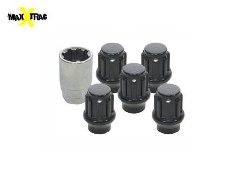 MaxXtrac Mach Set of 5 Locking Wheel Nuts - DA2475