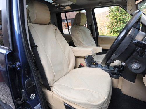 Britpart Discovery 3 Front Sand Seat Cover Set - DA2822SAND