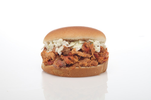 Pulled Pork Barbecue with Mild Sauce