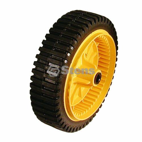 Plastic Drive Wheel Replaces: AYP 193144 / 701575; Husqvarna 53219344 (Yellow)