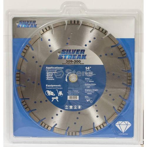 Silver Streak Laser Welded All Cut Blade 309-300