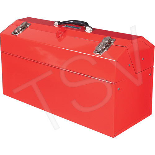 "21"" Portable Cantilever Tool Box (Red)"