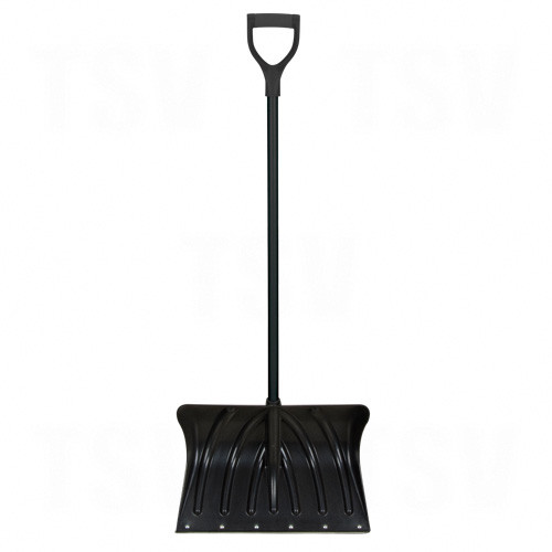 Poly Snow Shovel with Steel Wear Strip