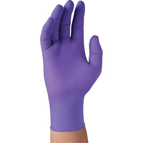 "9.5"" Purple Nitrile* Exam Gloves Box/50"