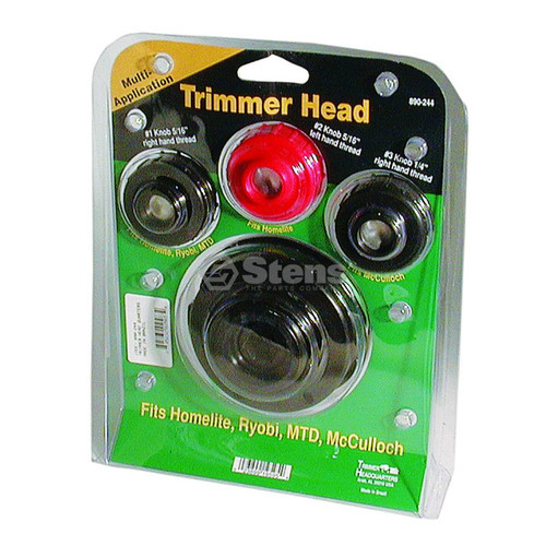 Universal Trimmer Head Trimmer Headquarters Fits Homelite, Ryobi, MTD and McCulloch