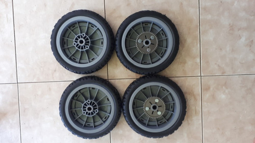 Mower Wheel Kit Replaces Toro 107-3709 / 107-3708 For Toro most Super Recyclers