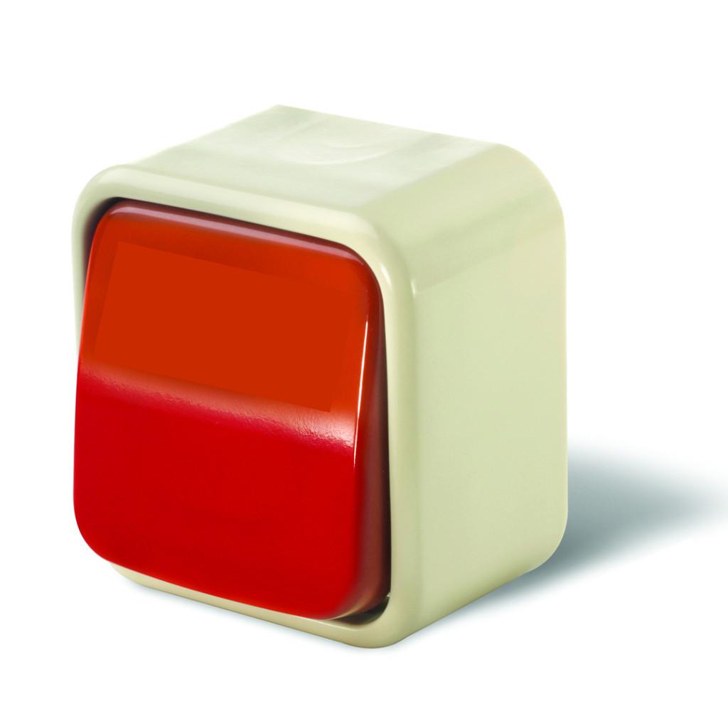 Red Interrupter Rocker Switch  903.00001