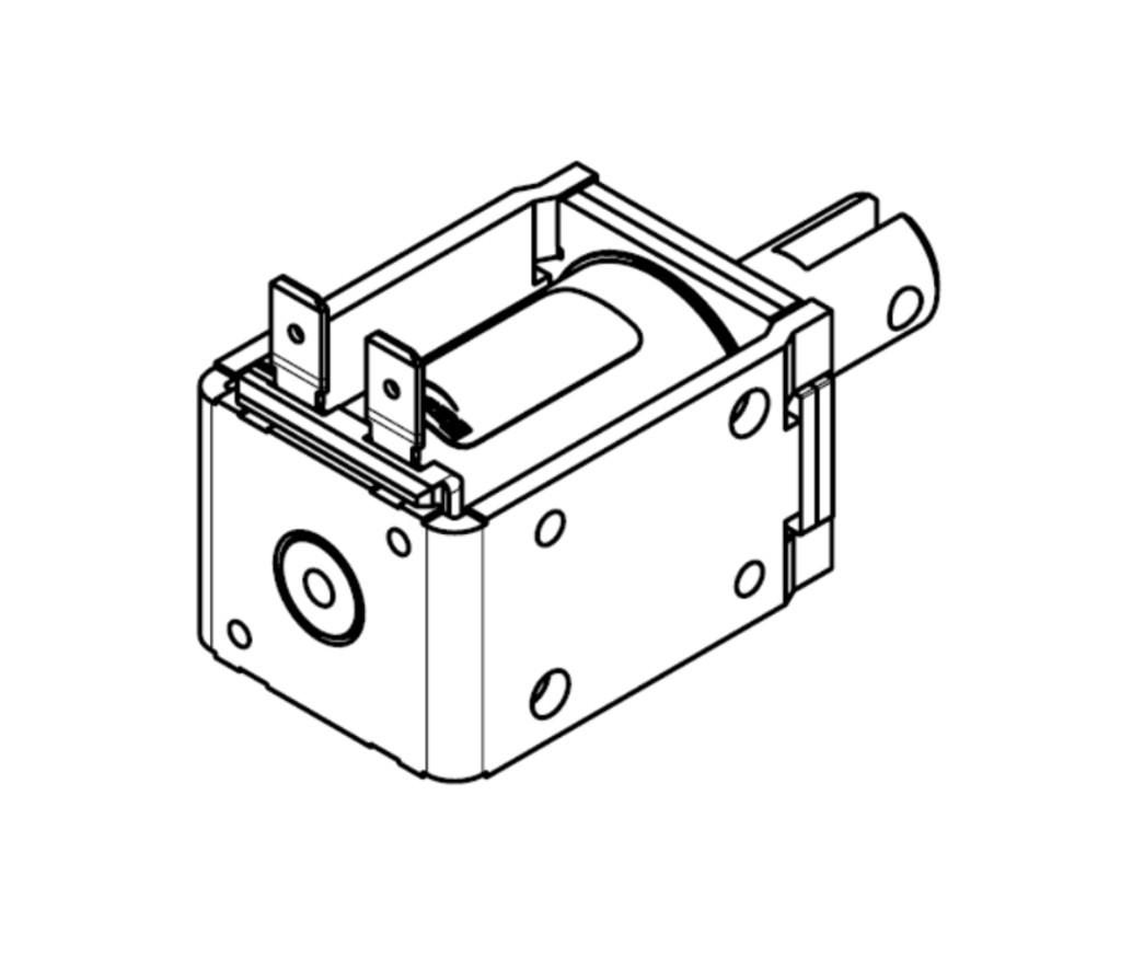 Linear Pull-Type Solenoid 4000628AE24V01