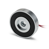 low profile DC holding magnet high force, short electromagnet high force, round electro holding magnet low profile, thin electro holding magnet,  narrow DC holding magnet,