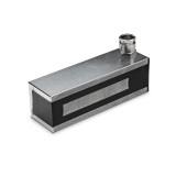 Rectangular holding magnets, rectangular electromagnet, rectangular electro holding magnet door, high force rectangular electro holding magnet, DC holding magnet small rectangular