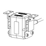 Electromagnetic Shaker Coil with angle mount - 230V AC