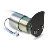 High Performance Shutter Solenoid with blade and position detection, Kuhnke D23