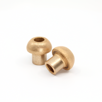 Brass replacement bushing for Kendrion OLV - electromagnetic linear oscillators