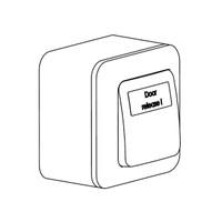 Red Door release Switch GTU05